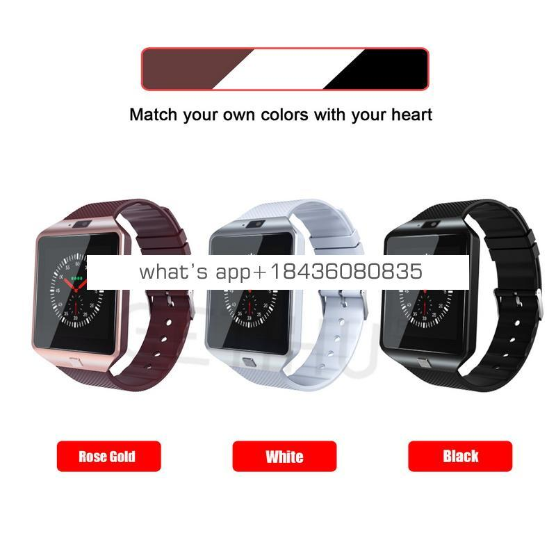 2018 High Quality OEM Factory cheap Price Blue tooth SIM Card Smart Watch DZ09 for iphone