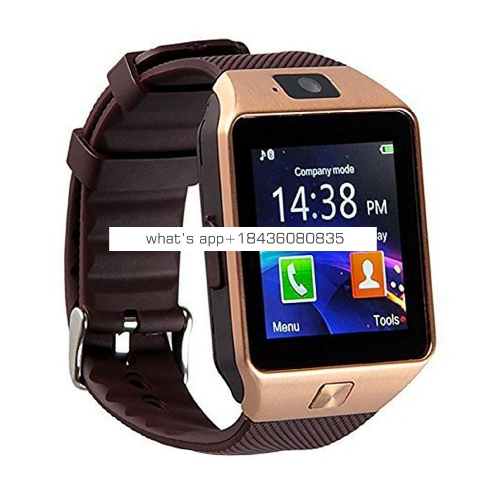 2019 1.54 Inch Android Bluetooth Smartwatch GT08 Dz09 Smart Watch Telefono With Camera Support TF Sim Card
