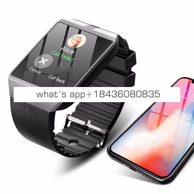 2019 Amazon hot sell DZ09 smart watch dropshipping bluetooth smart watch With Sim Card