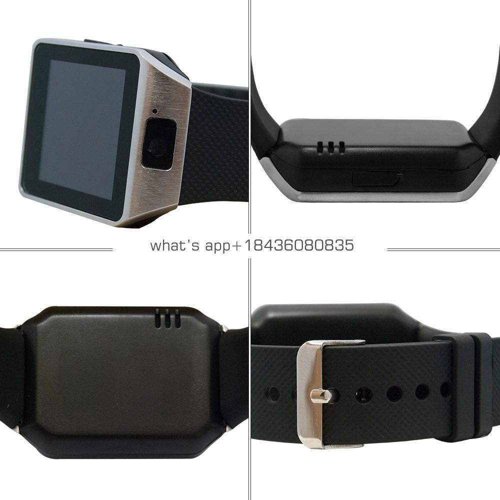 2019 New Smart Watch dz09 With Camera BT WristWatch SIM Card Smartwatch For Ios Android Phones Support Multi languages