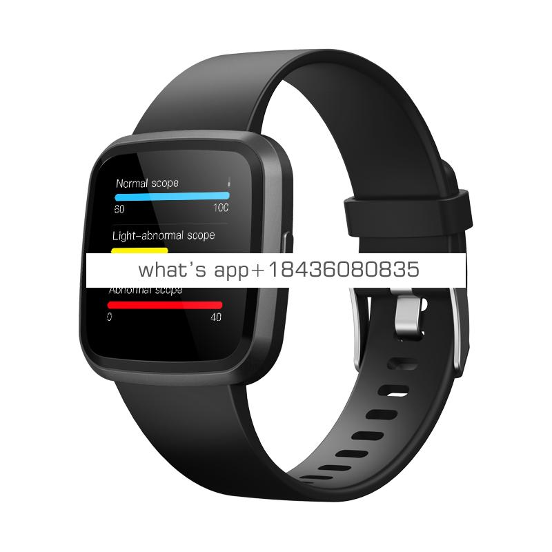 2019 Newest fashion Heart Rate well design smart bracelet watch with SPO2 smart watch fitness tracker with blood oxygen