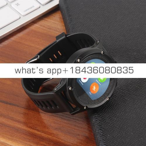 2019 Round screen smart watch GPS tracking smartwatch with health mate