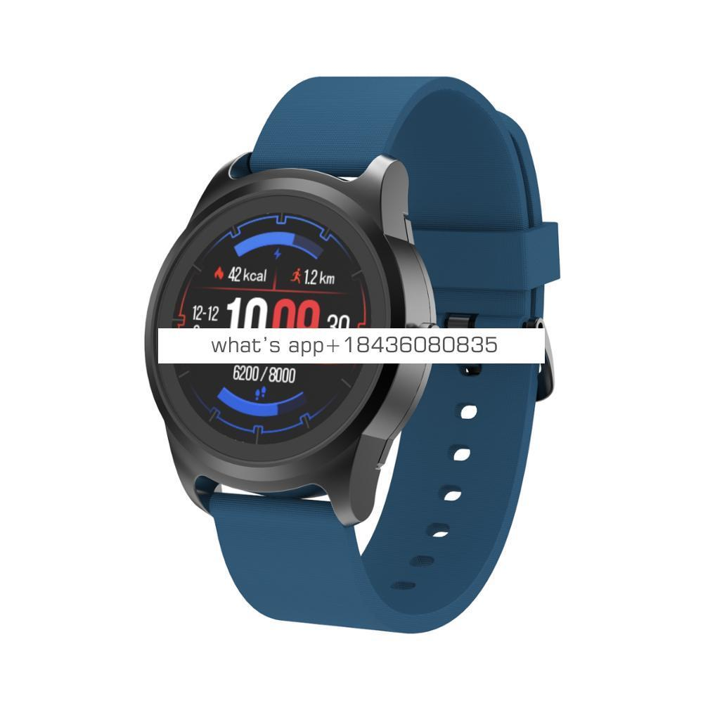 2019 blue tooth smartwatch outdoor sport wristband round shape smart watch
