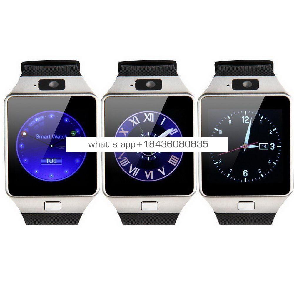 2019 dropshipping hot sales ce rohs anti lost dz09 mobile smartwatch getihu bluetooth smart watch bracelet for iphone