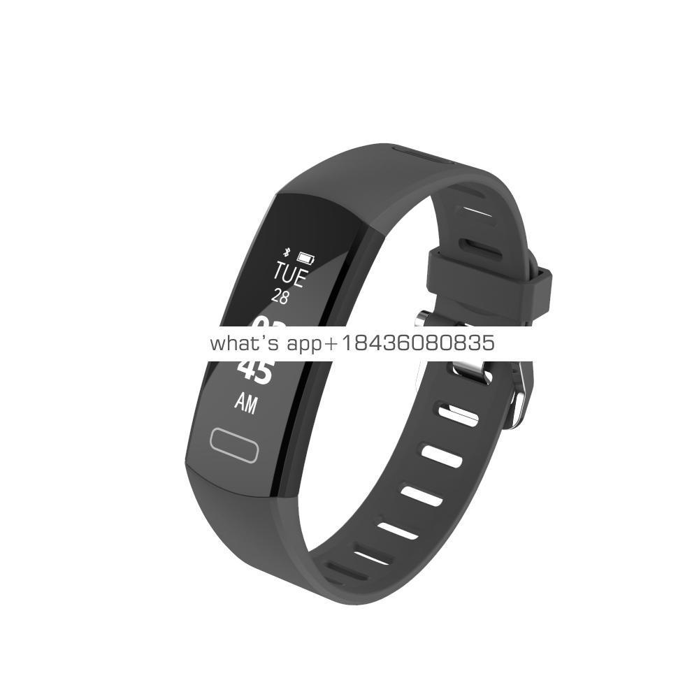 2019 simple minimalist Bluetooth wristwatch waterproof branded sleep monitor health partner smart fitness watch