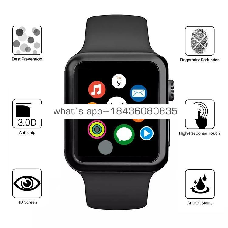 3D Curved Full Glue PMMA Soft Screen Protector for Apple Watch Series 1 2 3 4