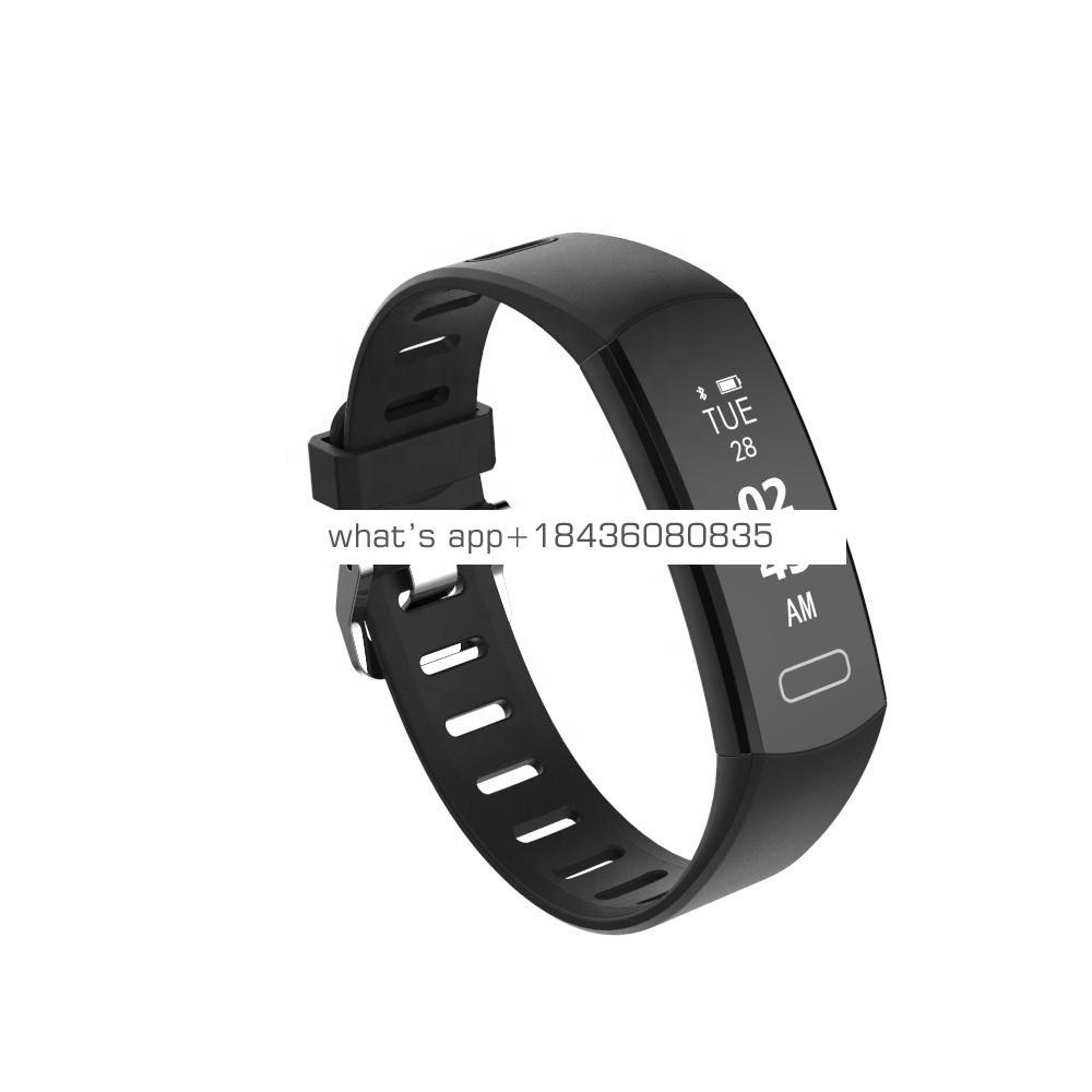 Affordable good quality business mens bluetooth notifier smart watch fitness bracelet calories pedometer box packaging