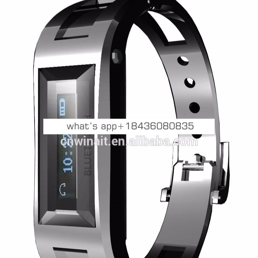BT bracelet watch with LCD display caller ID for smart phone WT-A10