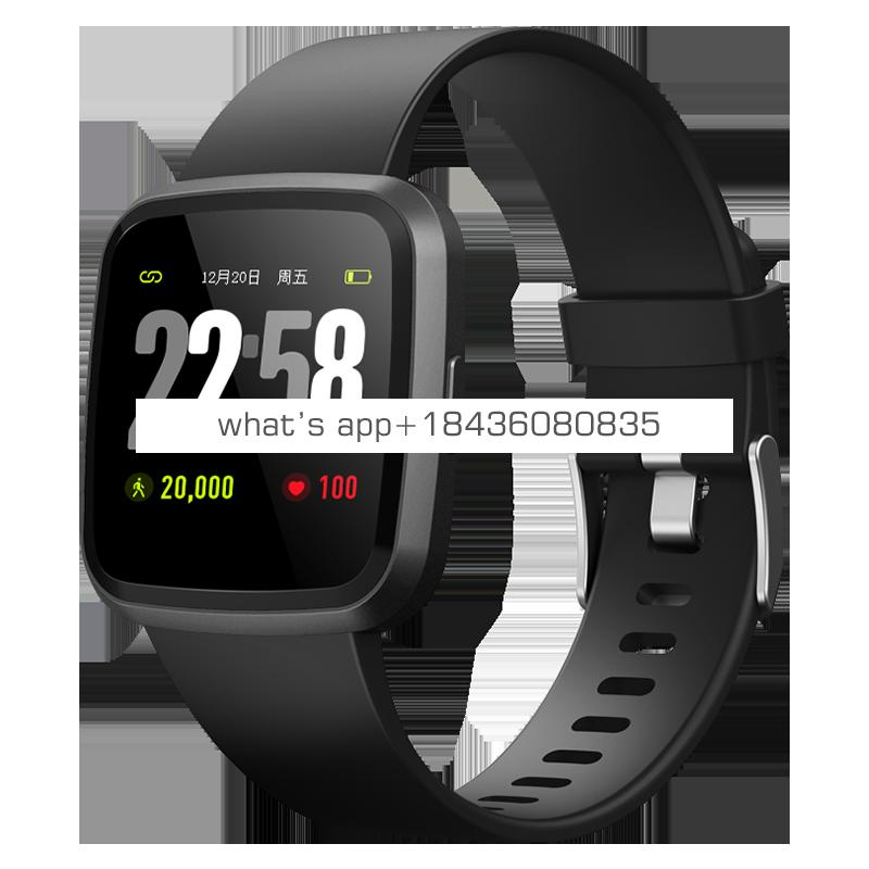 Bluetooth 4.0 smart bracelet with heart rate monitor fitness  tracker high quality Fitness watch with SPO2  smart fitness band