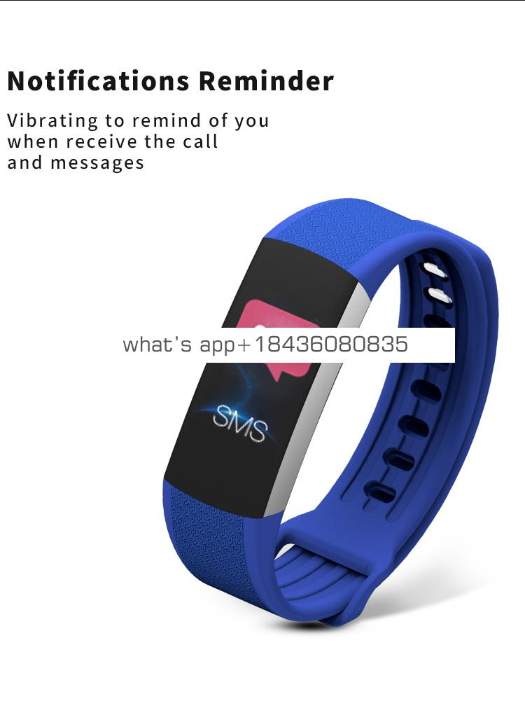Bluetooth Heart Rate Tracker Smart Bracelet for Android and IOS Phone smart watch
