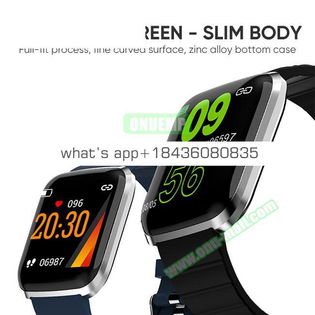 CE ROHS Approved HR Fitness Tracker 116Pro Waterproof Smart Watch Bracelet