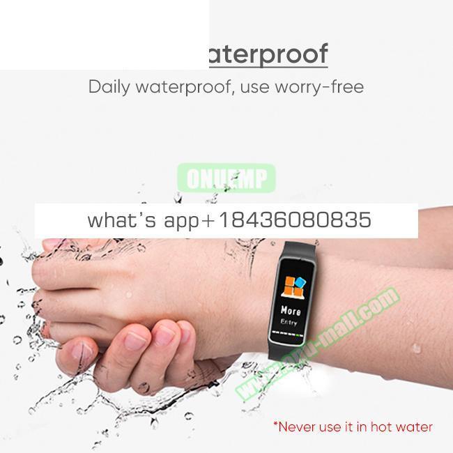 CE ROHS FCC Approved Fitness Tracker IP67 Waterproof B4 Smart Watch Bracelet