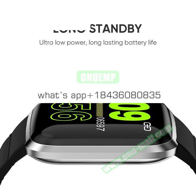 CE ROHS IP67 Waterproof Blood Pressure Monitor 116Pro Smart Watch