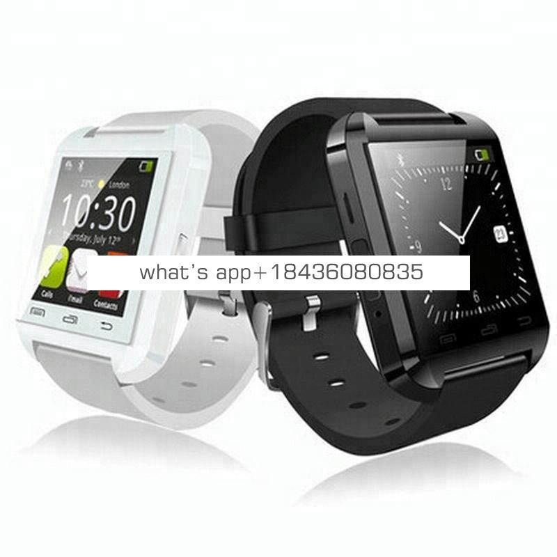 Cheap Price Wholesale Man Smart Wrist Watch Phone Bluetooth Android Smartwatch U8 Smart Watch Without Camera And Sim Card Slot