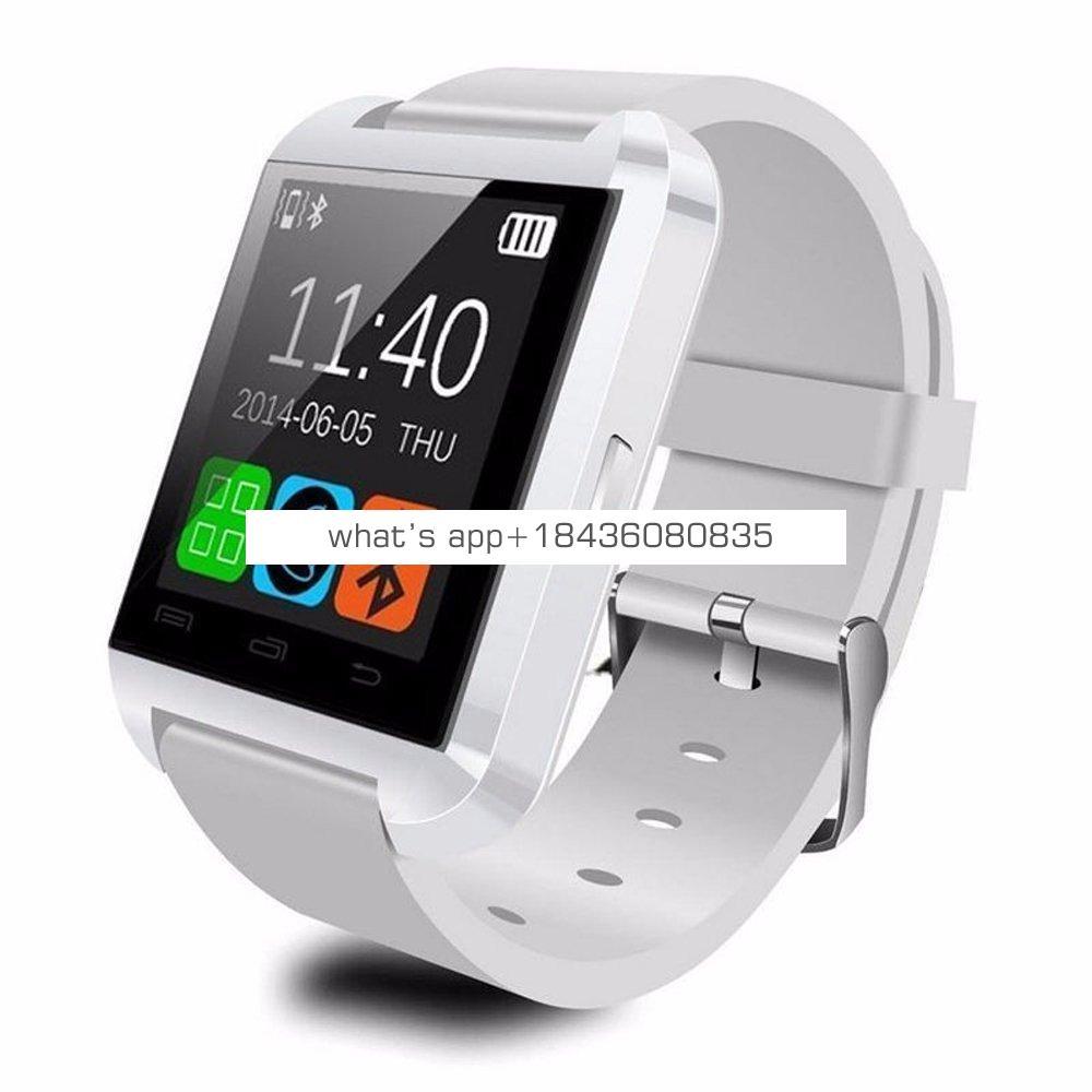 China Wholesale Man Smart Wrist Watch Phone Bluetooth Android Smartwatch U8 Smart Watch Without Camera And Sim Card Slot