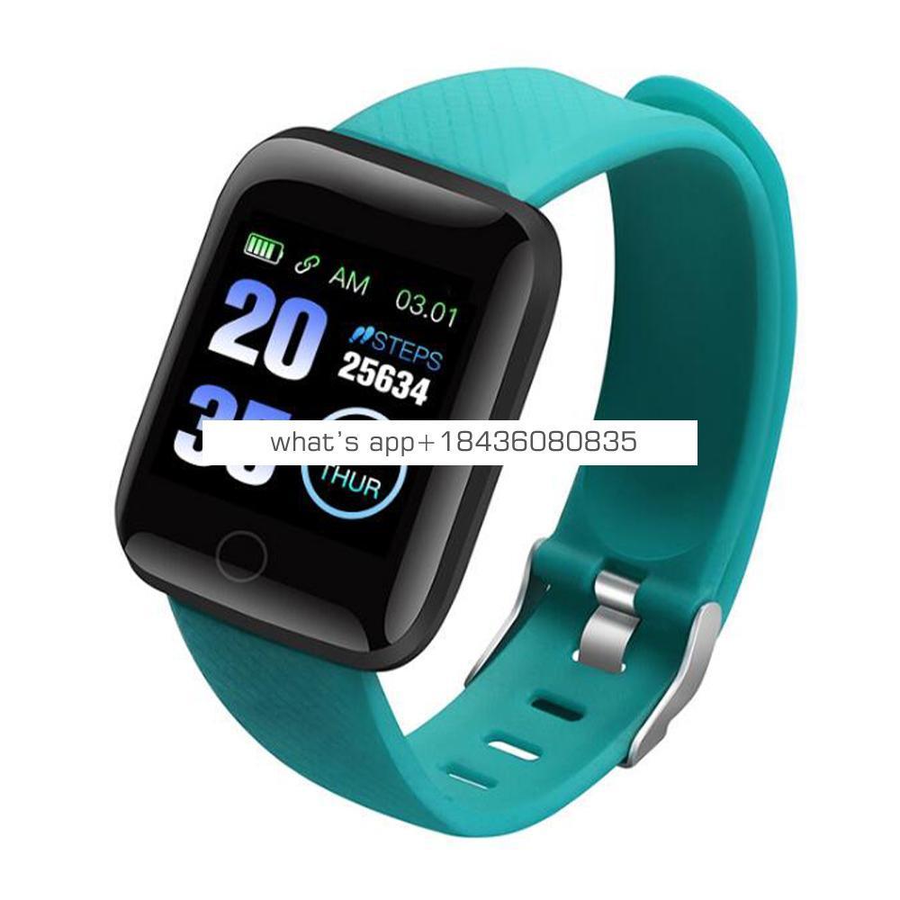 D13 116plus HR Smart Watch, USB Charging IP67 Fitness Tracker Activity Tracker Sport Bracelet