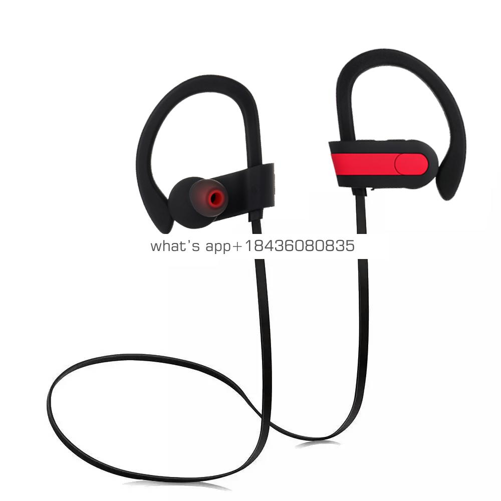 Factory Price CE/RoHs/Fcc/BQB Handfree Waterproof Wireless Sport Headphone Bt Earphone With Mic for Iphone Android Phone