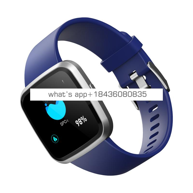 Factory direct sell smart bracelet heart rate and blood pressure and SPO2,smart watch IPS full touch smart bands CE,ROHS