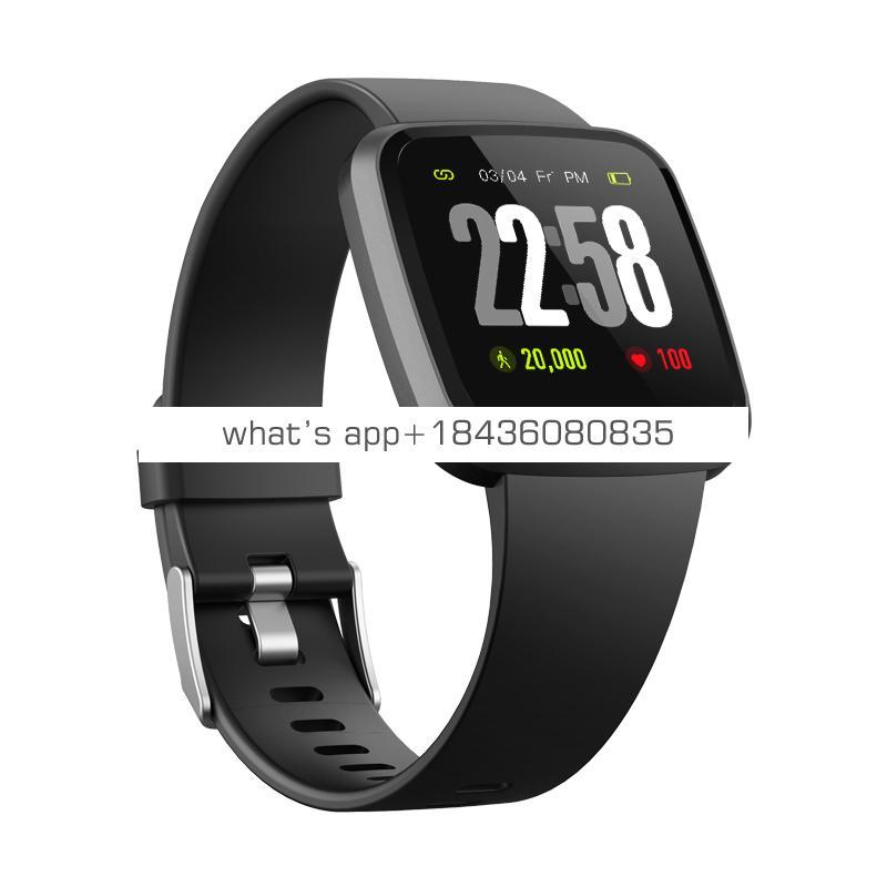 Factory sale V12 Smart Bracelet SpO2 HRV monitor  Fitness Tracker Heart Rate Blood Oxygen Monitor IP67 Wristband  CE,ROHS