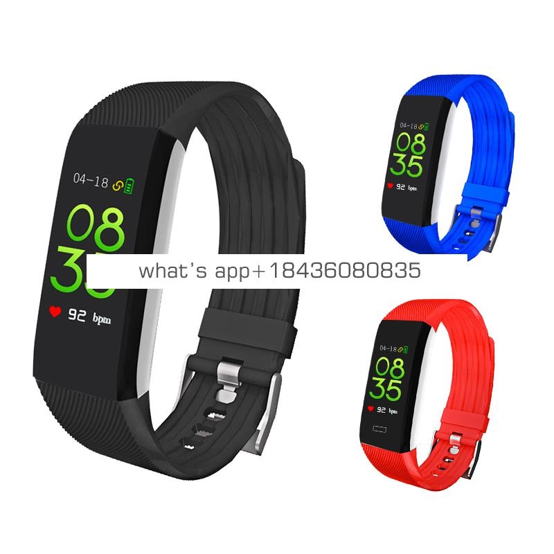 Factory wholesale stylish sport fitness led wireless smart wrist watch mobile phone android  smartwatch 2019
