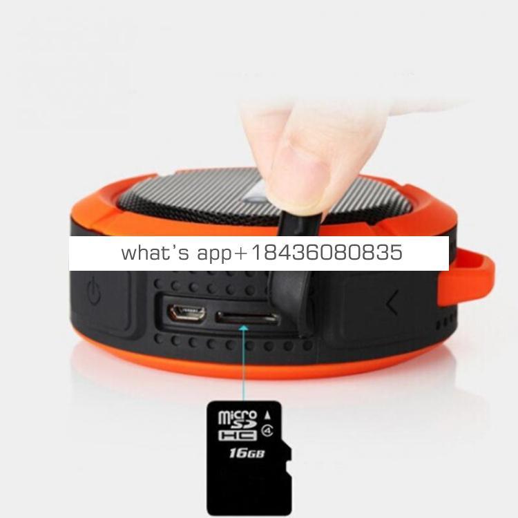 Free shipping 2018 Portable Mini C6 Wireless speaker outside IP5 car speaker for Waterproof speakers
