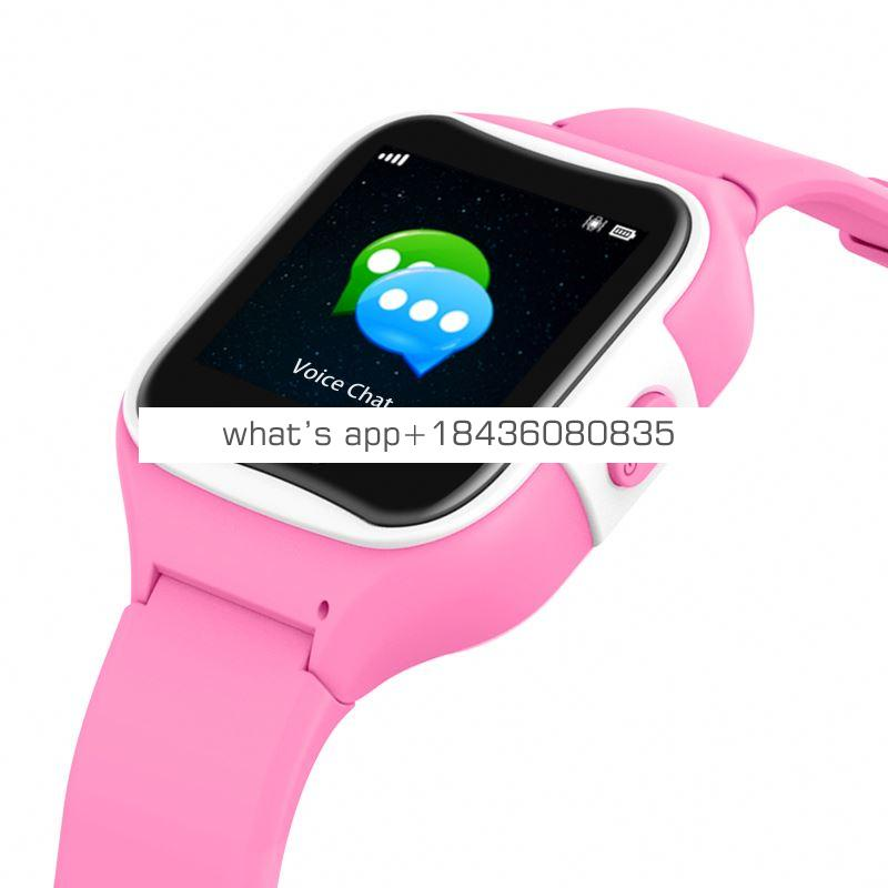 GPS   SOS Waterproof IP68 Touch screen  children's watch phone 2019 smartwatch