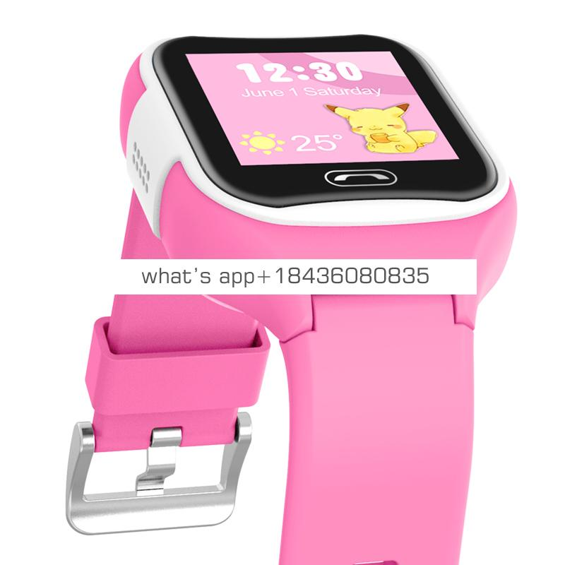 GPS Android  children with IP68 waterproof 1.3inch IPS color screen and SOS button refused to stranger calls