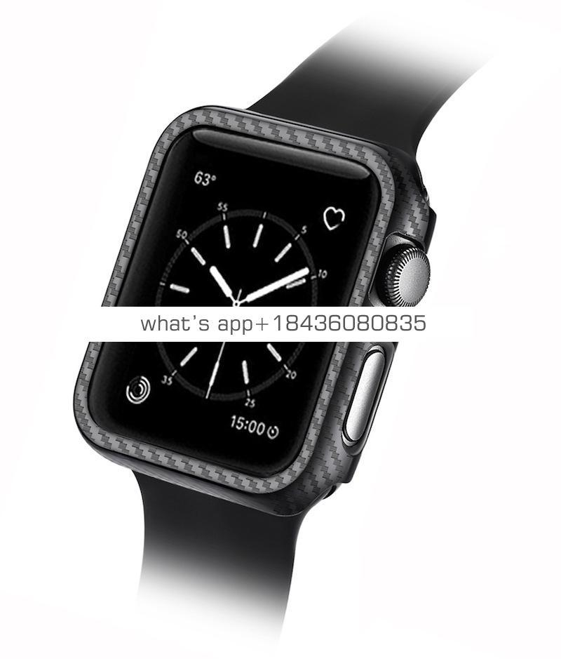 Good Carbon Fiber Hard PC Case for Apple Watch Series 1 2 3