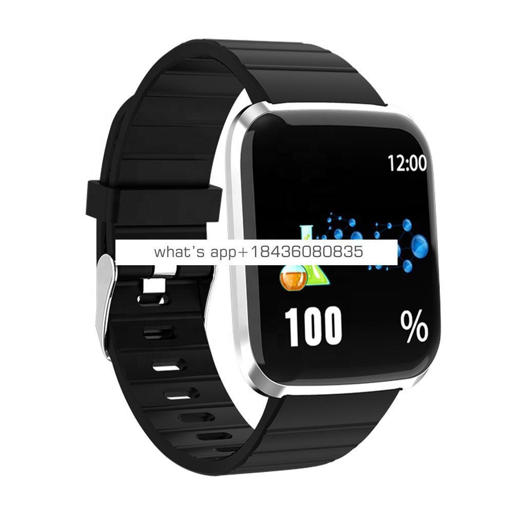 Heart Rate Pedometer Touch Ip67 Waterproof Sport Screen Smart Wristband Bracelet