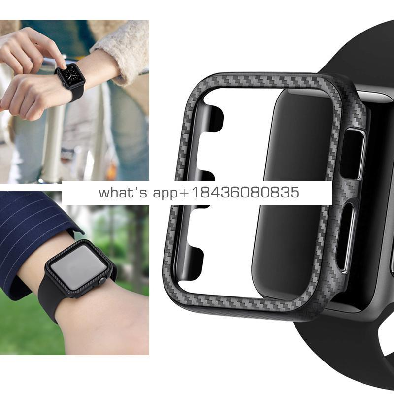 Hot Products Carbon Fiber Protector Case for Apple Watch Series 1 2 3