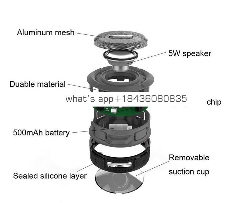 Hot sale Waterproof BT speaker Music Player/Gifts Gadget/outdoor wireless shower Speaker C6