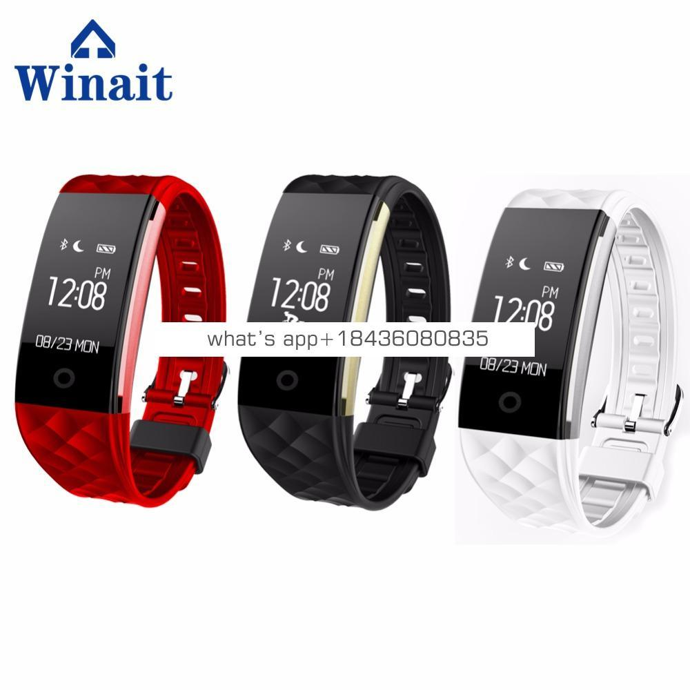 IP67 diving smart bracelet S2 support Call Reminder Health Tracker For Android/IOS Heart Rate Smart Bracelet