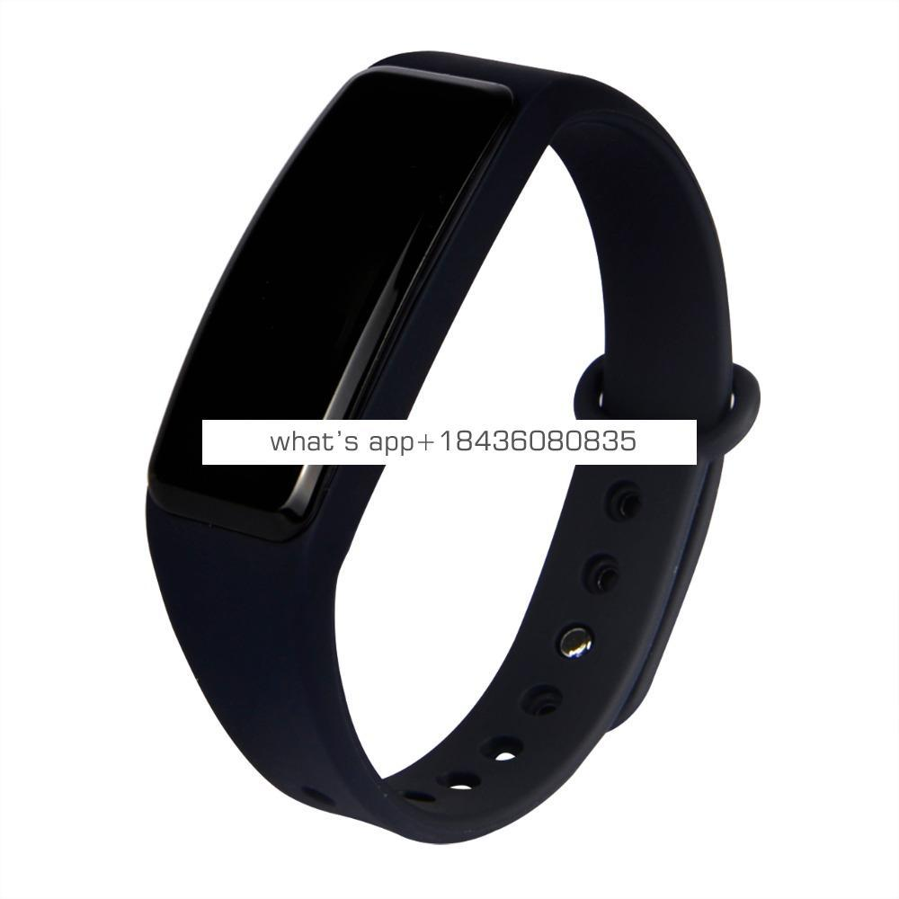 IP68 waterproof second generation dynamic heart rate monitoring, all day monitoring heartbeat smart Bracelet