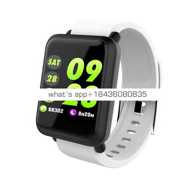 M28 Multi-language Weather Sport Wristband Smart Band Heart Rate Blood Pressure Smart Bracelet Watch