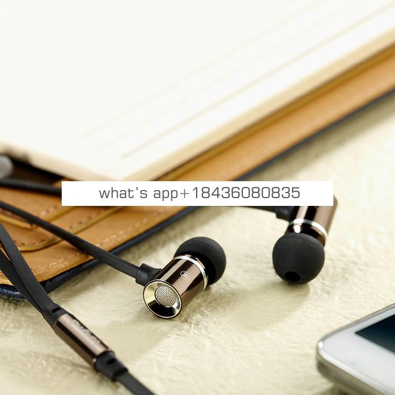 Metal In-Ear Earphones Super Bass Noise for Iphone7/7plus for Samsung galaxy