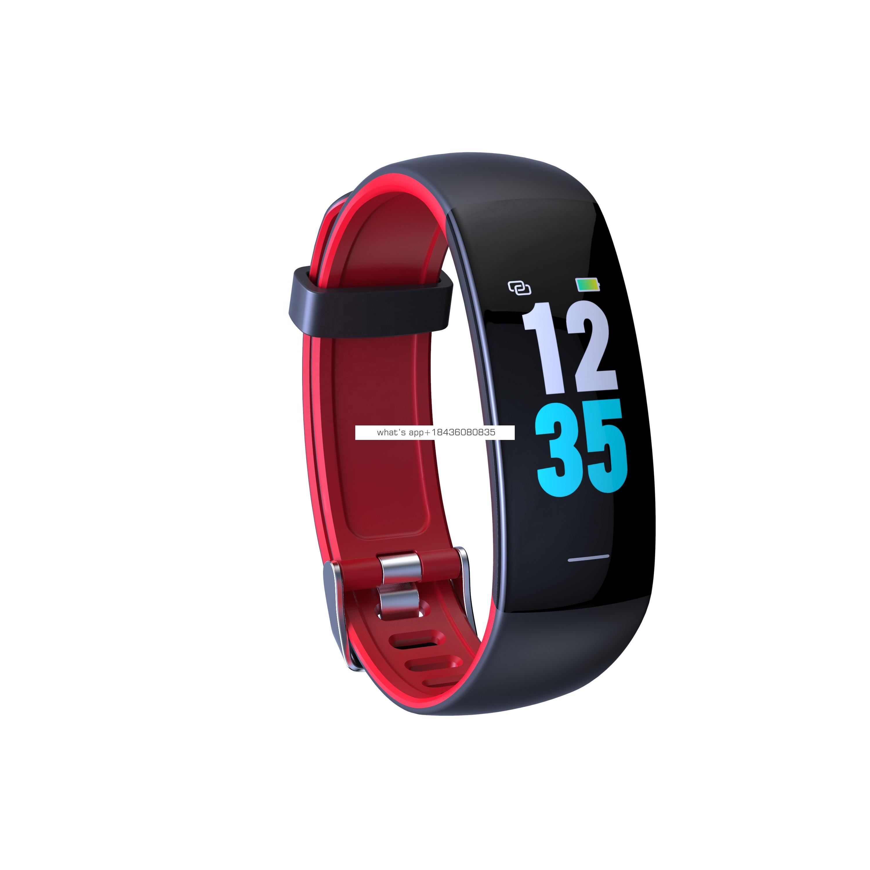 Most popular OEM sport modes pedometer fitbit smart health watch branded IP68 waterproof for swimming shower