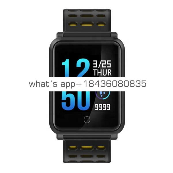 N88 Touch Screen IP68 Waterproof Smartwatch Fitness Tracker Bracelet with Heart Rate Sleep Pedometer Calorie