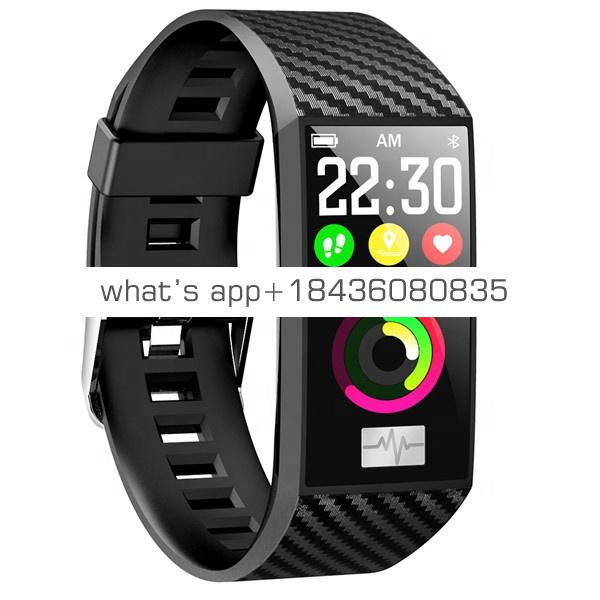 NO.1 DT58 1.14 Inch Color Screen IP68 Smart Bracelet Activity Tracker Heart Rate Blood Pressure Monitor Sport Smart Watch