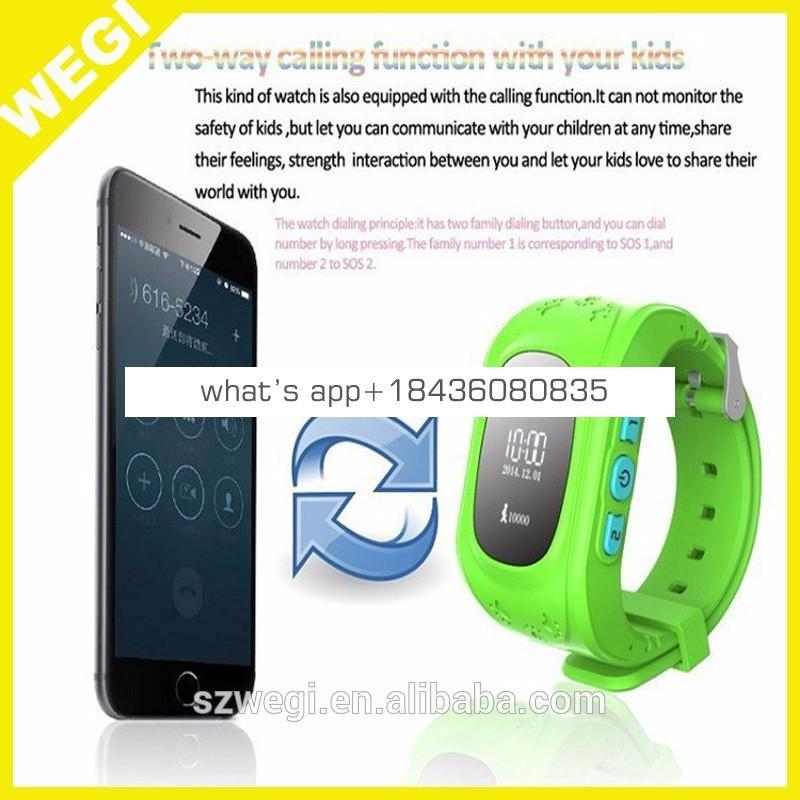 New Kid GPS Smart Watch Wristwatch SOS Call Location Finder Locator Device Tracker for Kid Safe Anti Lost Monitor Baby Gift