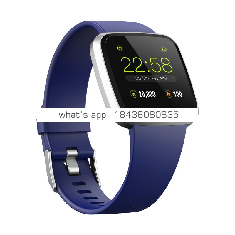 New design smart bracelet SPO2 heart rate monitor  full touch IPS screen  IP67 waterproof smart bracelet with CE,ROHS,FCC