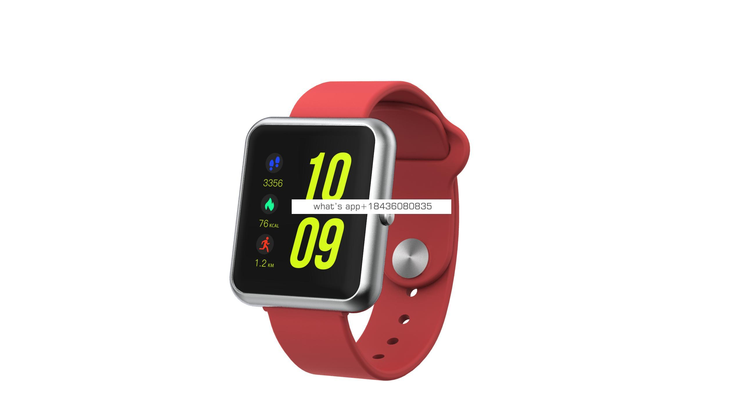 Newest popular sport waterproof  smartwatch android call  heart rate monitor smartwatch
