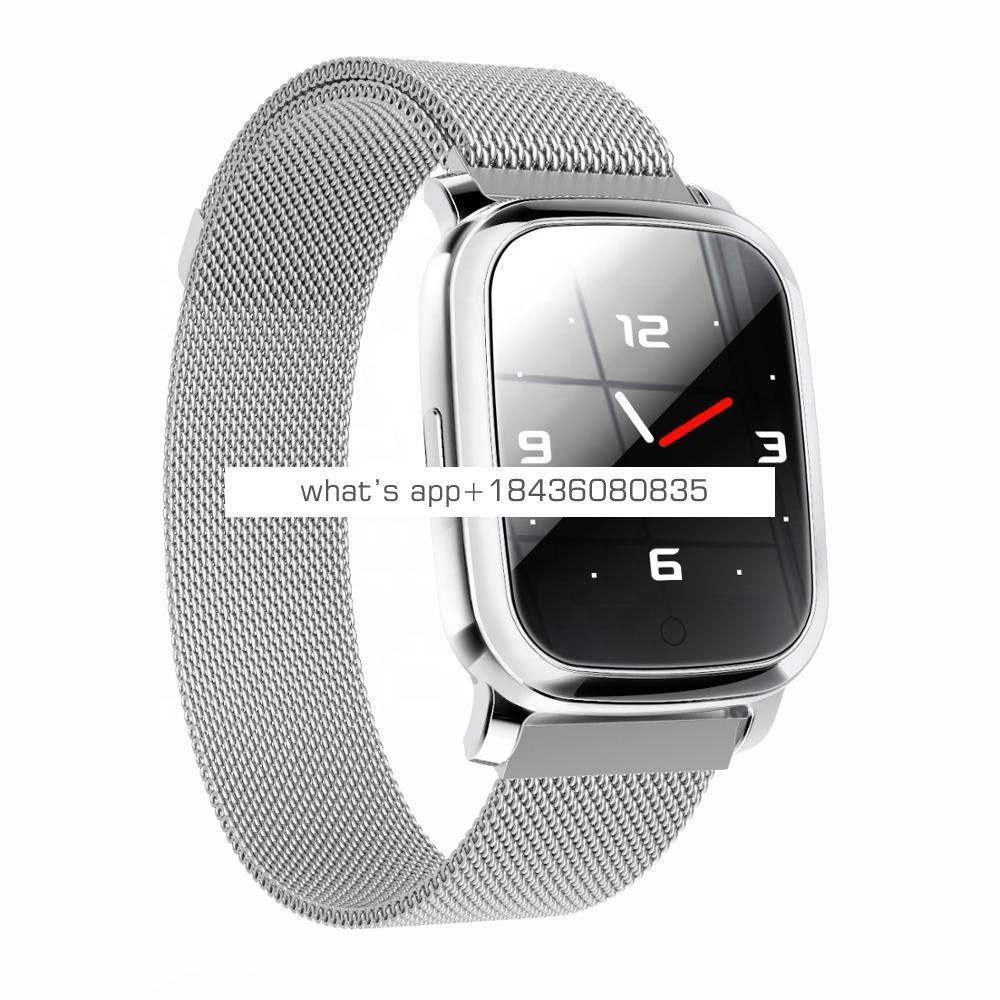 OEM square touch screen 1.33'' blood pressure h2 fitness smart sport watch ip67 waterproof heart rate monitor smart watch
