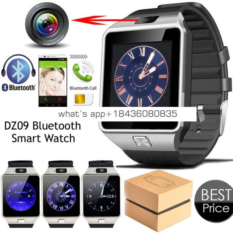 Original Smart electronics Watch dz09 Camera Wrist Watches SIM Card Smartwatch For Android For Iphone