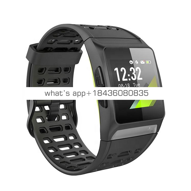 P1 GPS Smartwatch  Sports Watch Color Screen Heart Rate Monitor ECG Smart Bracelet Fitness Tracker Smart Watch