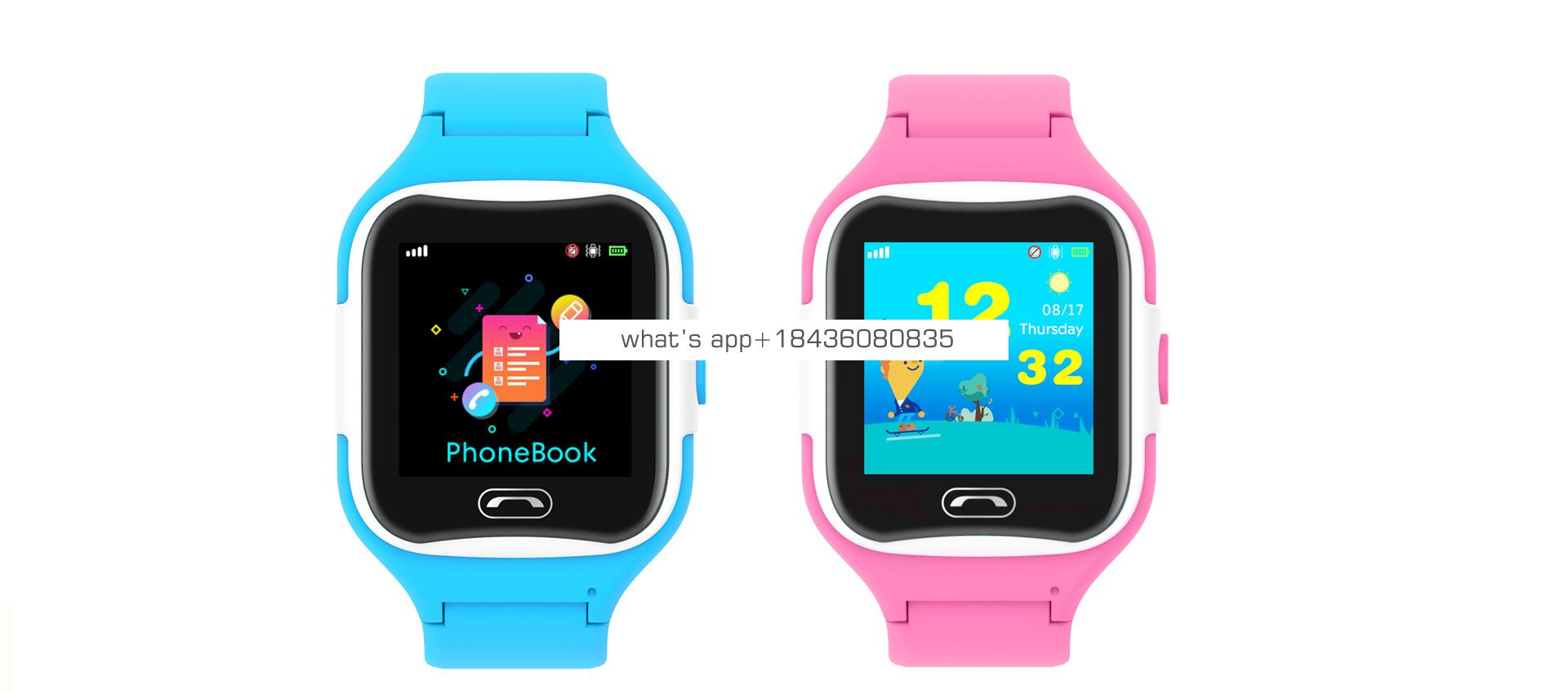Prevent children from losing their SOS 4G Gps tracking Touch screen smart watches