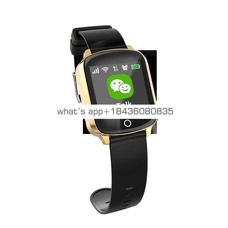 Professional WiFi GPS positioning smart watch tracker sos emergency kids elderly health watch