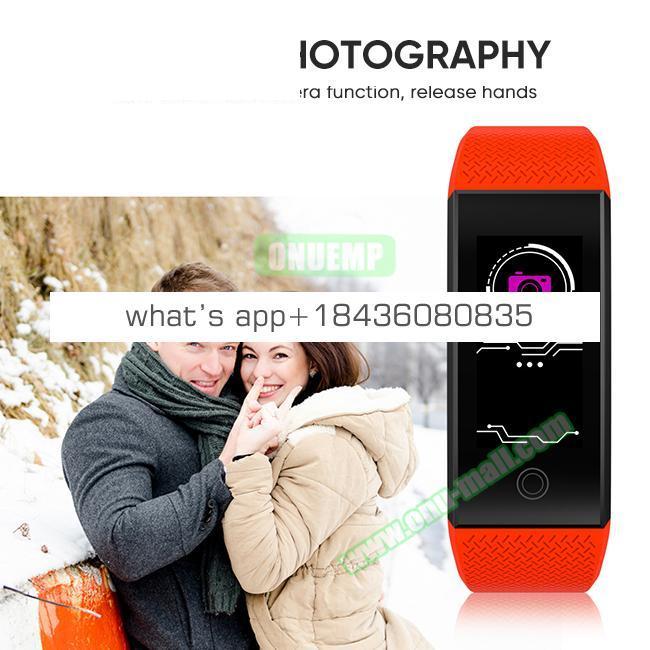 QW18 Fitness Watch Smart Sports Bracelet With Blood Pressure