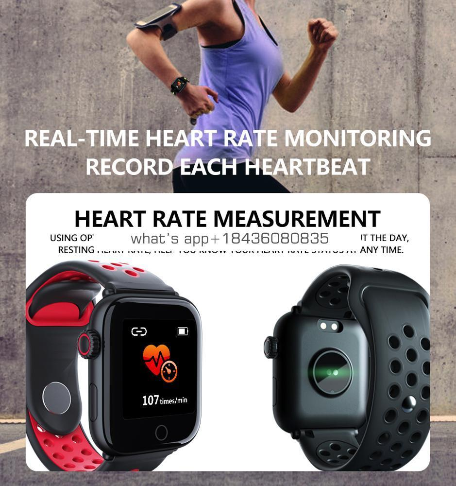 Rundoing Q8 z7 Smart Watch OLED Color Screen Fitness Tracker Heart Rate monitor
