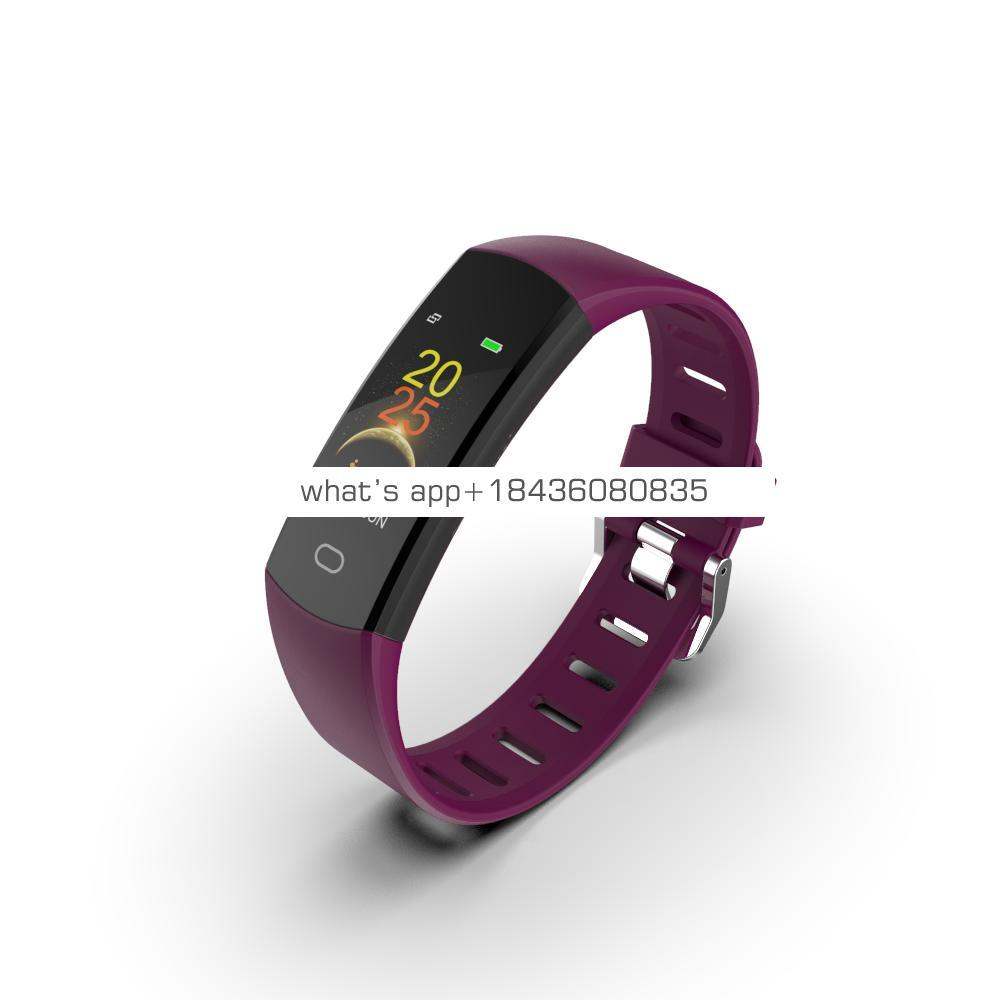 Simple promotional whatsapp fitness sport health OEM cheapest shenzhen blood pressure monitor smart watch bracelet wristband