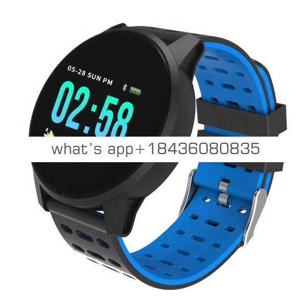 Smart Watch W1 Outdoor Sports Waterproof IP67 Smartwatch Fitness Tracker with Heart Rate Blood Pressure Pedometer